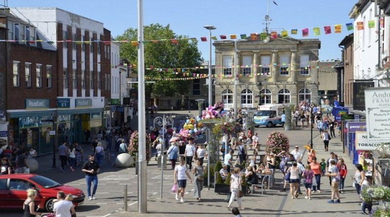 Andover High Street named as one of the best in the country