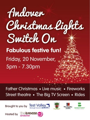 Save the date for the Christmas Lights Switch On -