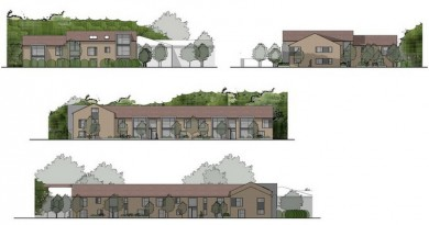 Calmore south block elevations