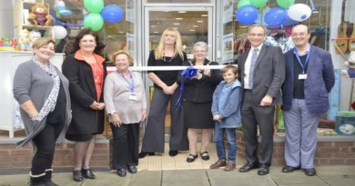 Alabaré Charity Baby Shop Opens