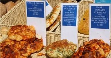 Farmers'Market Bread Stall