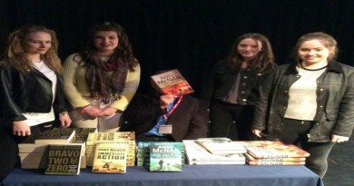 Andy McNab at Andover College