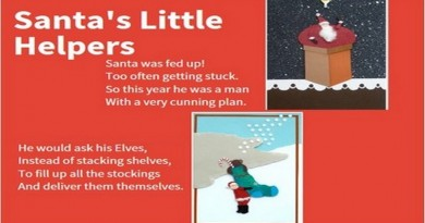 Santa's Little Helper Poem