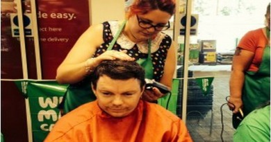 Tesco 'Brave the Shave' for MacMillan