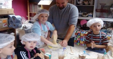 Kids Baking Party at the Travelling Cupcake