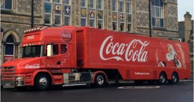 Coca Cola Truck, Winchester