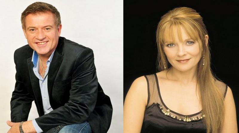 Dominic Kirwan and Mary Duff