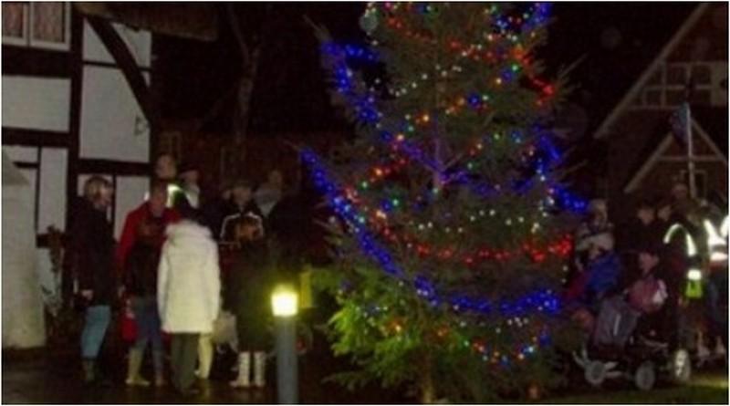 Christmas Arrives At Enham Trust And Award Winning Village