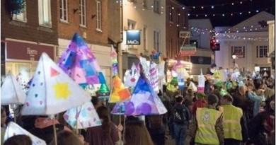 Romsey Lantern Parade