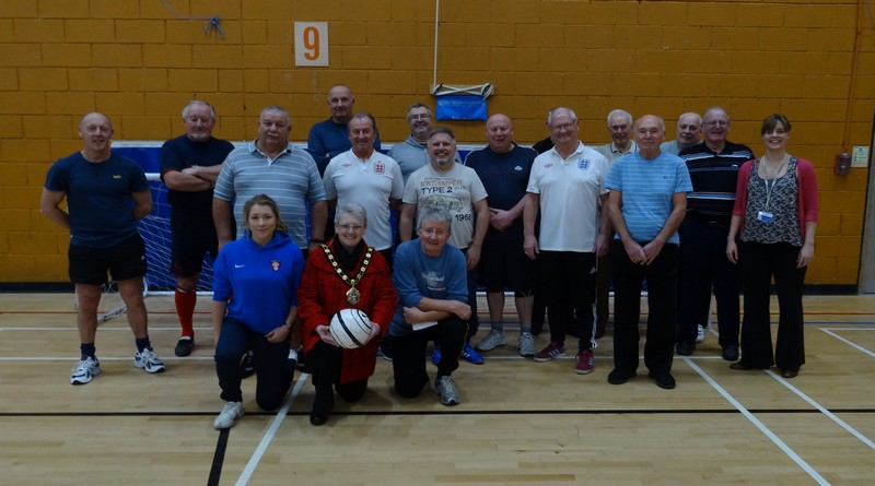 Mayor joins Walking Football group
