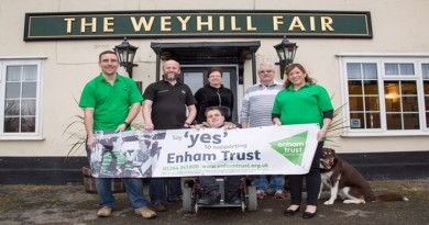 Weyhill Fair supports Enham Trust