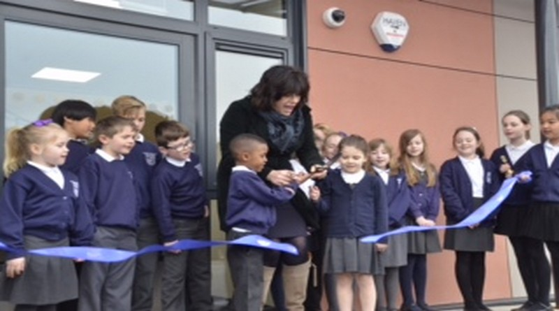 Mp Claire Perry Opens New School Building At Bulford St