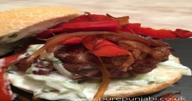 Pure Punjabi - recipe pic Butter burger