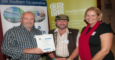 CPRE Awards Winners 2015 sponsored by The Southern Co-operative.