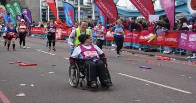 Martin at London Marathon