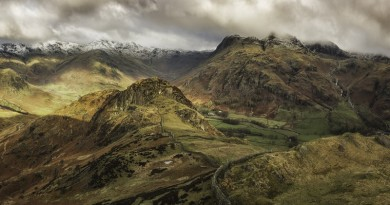 The Langdales by Stuart Bennett - Landscape Trophy May 2016
