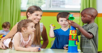 Children benefiting from Early Years Education
