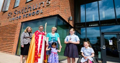 St Swithun's new building opening
