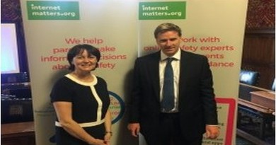 MP Steve Brine with Internet Matters Chair