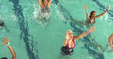 Zumba Aqua launched in Andover