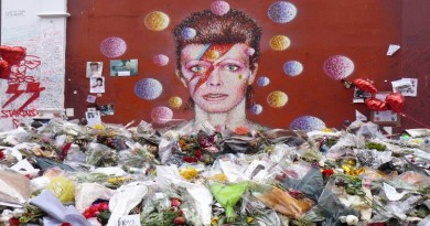 10x10 Tribute to David Bowie in Brixton