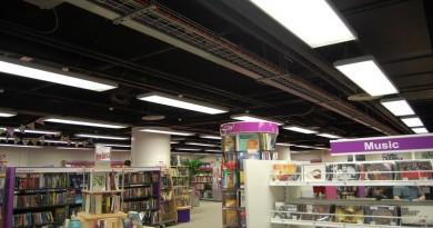 Eastleigh Library before refurbishment
