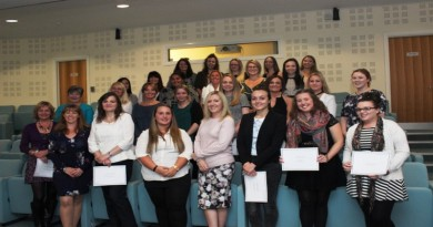 The newly-qualified nurses and midwives
