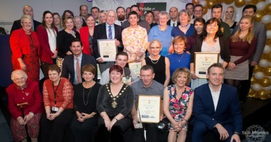 Pride of Andover praise award winners on it's 10th Anniversary and Thank Dame Esther Ranzten who presents awards for the last time