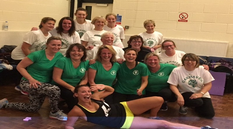 Determination, sweat and tears at Oakhaven's fundraising exercise class