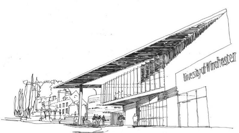 Proposed new part of Winchester University