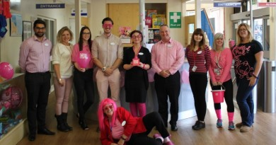 Andover-Leisure-Centre_s-staff-wearing-pink-to-raise-awareness-for-Breast-Cancer-Care