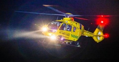 Hampshire and Isle of Wight Air Ambulance warns Public of Dangers of Laser Attacks
