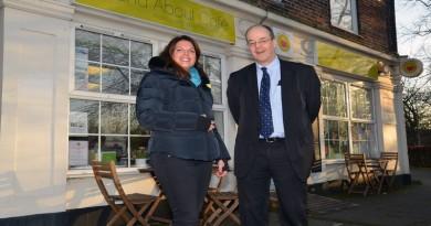 MP Caroline Nokes, Radian Chief Exec Lindsay Todd
