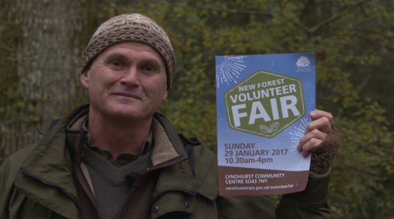 Simon-King-supports-New-Forest volunteer fair