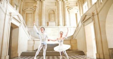 Cinderella ballet prince and Cinderella(