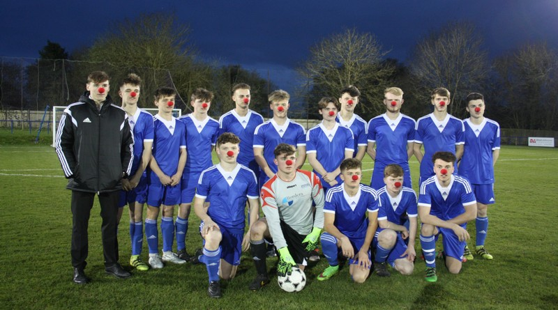 Andover College Football Academy Students Team