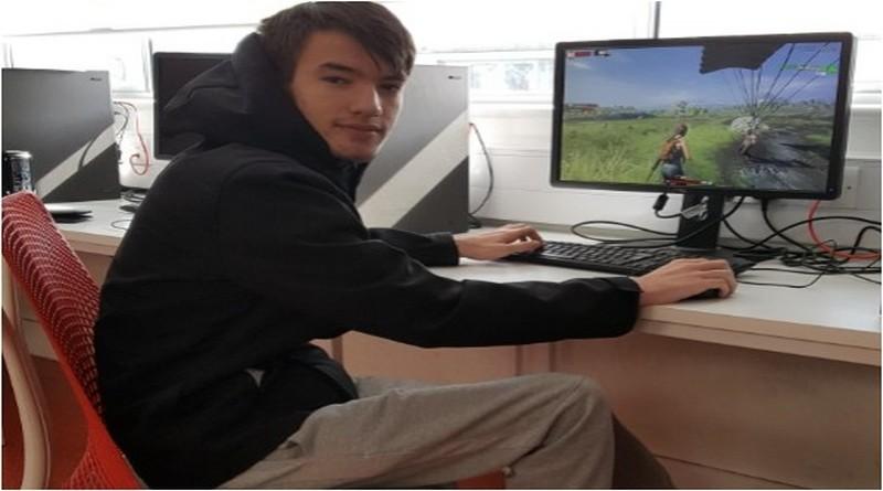 Totton College student, Jack Parker