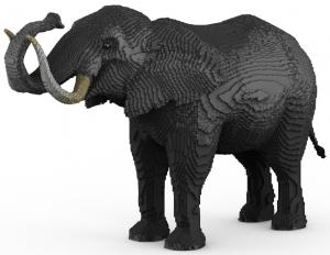 Elephant render 1