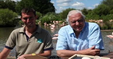 Paul Rose and Sir David Attenborough
