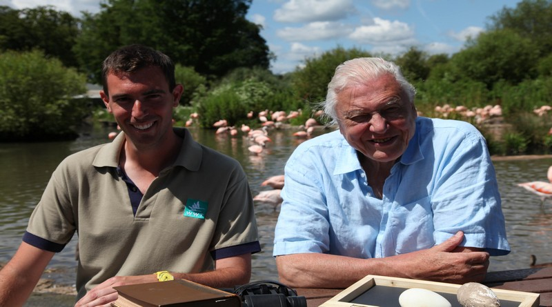 Paul Rose and Sir David Attenborough