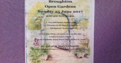 Broughton Open Gardens