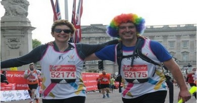 Terminal breast cancer patient realises childhood dream and completes the London Marathon