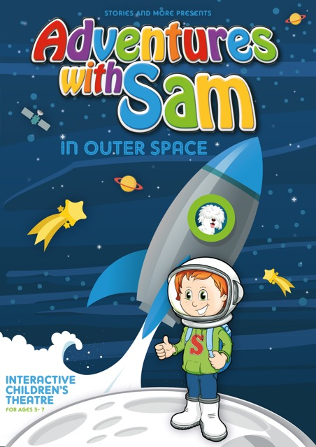 Adventures With Sam_ Space_A5 FLYER copy