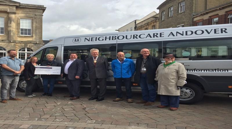 Andover Neighbourcare minibus