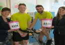 Cycling challenge raises over £100 for Friends of the Family