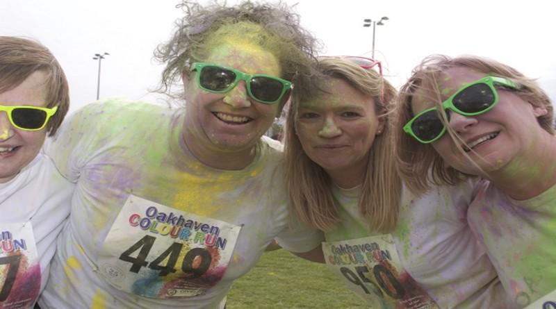 Colour Run - Oakhaven Hospice