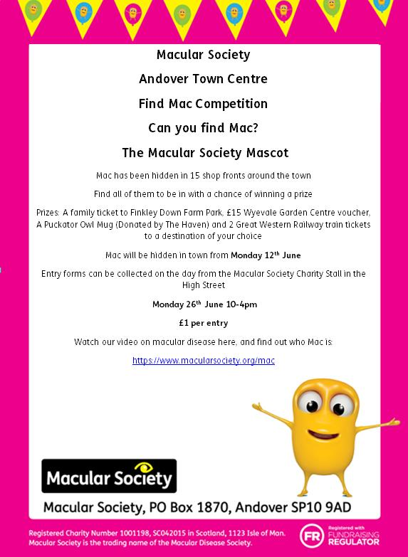 Macular Society Competition