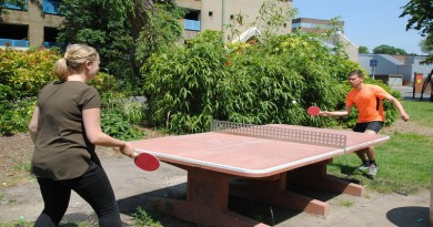 A summer of table tennis