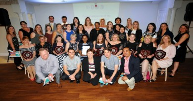 2017 DONA - Director of Nursing Awards at Froyle Park, Hotel All the winners with Donna Green, Chief Nurse / Chief Operating Officer and Deputy Chief Executive