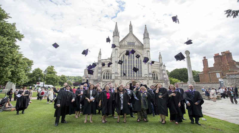 Sparsholt College Graduation Ceremony, Winchester Cathedral.